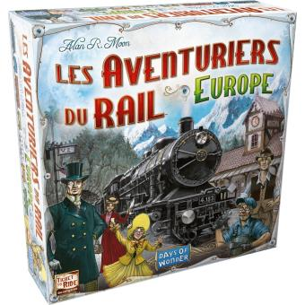 Jeu de société les aventuriers du Rail, La Fnac