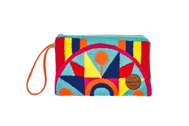 Pochette pour voyager en couleur, Wayuu la boutique éthique cadeaux eceologique