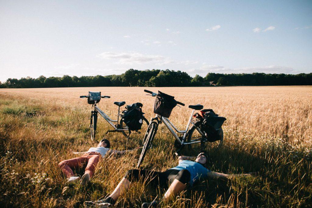 Une balade à vélo autour de paris dans les parc naturel régionaux. crédit photo : Clara Ferrand - blog WIildroad
