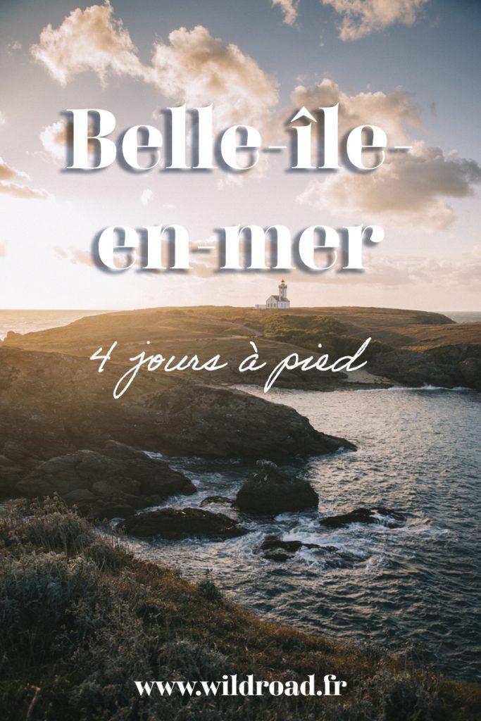 Comment s'organiser pour faire le tour de Belle-Île-en-mer- en 4 jours. Tous mes conseils sur le choix de l'hébergement et l'équipement ainsi que le récit détaillé de chaque étapes. crédit photo : Clara Ferrand - blog Wildroad #bretagne #morbihan #belleileenmer #randonnée #gr340 #sentiercotier