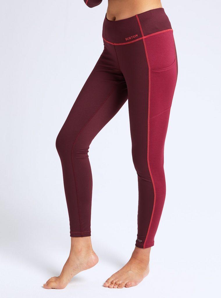 Pantalon chaud pour seconde peau en mérinos Bureton