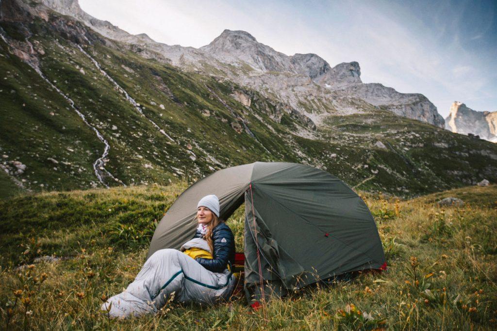La liste de materiel pour camper en été dans le parc national de la Vanoise. crédit photo : Clara Ferrand - blog Wildroad
