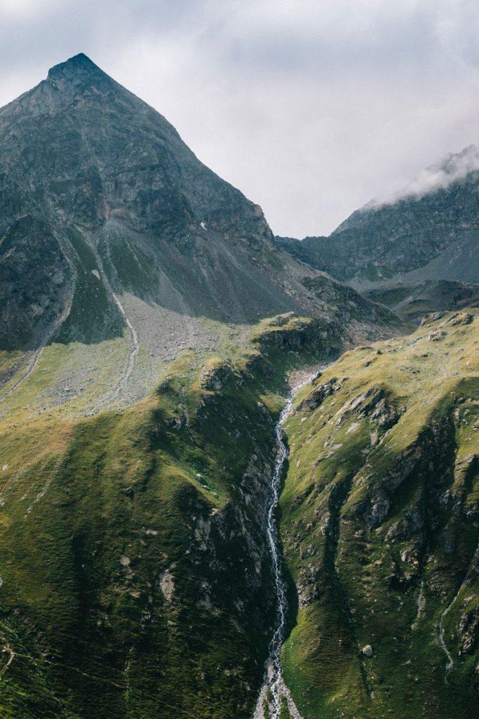 Les cascade du cirque du cul du Nant en Savoie. crédit photo : Clara Ferrand - blog Wildroad