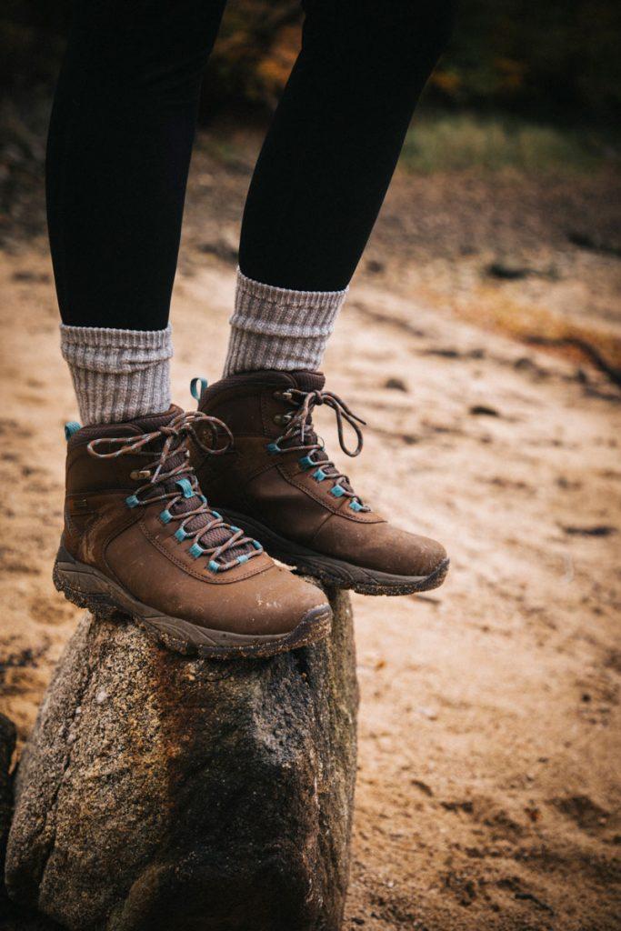 Test des chaussures de randonnée Merrell pendant un week-end automnale dans le Morvan. crédit photo :Clara Ferrand - blog Wildroad