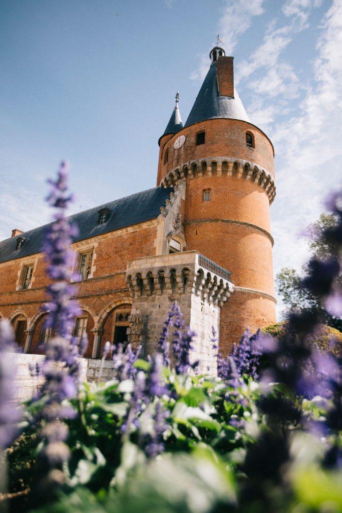 Les tours médiévales du château de Maintenon à voir lors d'un week-end. crédit photo : Clara Ferrand - blog Wildroad