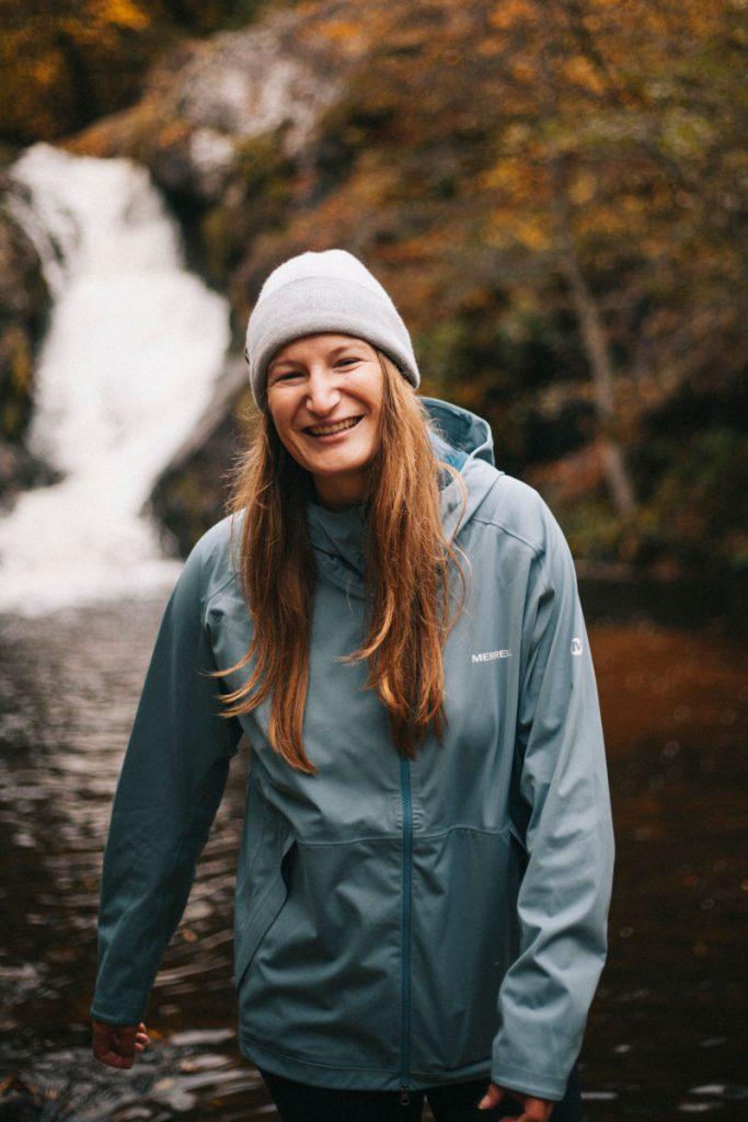 Clara Ferrand la blogueuse spécialisé en randonné et bivouac dans le Morvan. crédit photo : Clara Ferrand - blog Wildroad