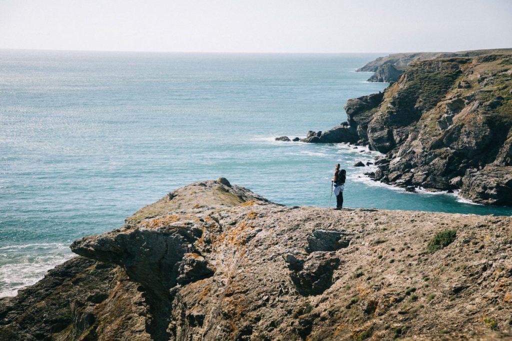 La lande de la côte sauvage sur Belle-Île-en-mer. crédit photo : Clara Ferrand - blog Wildroad