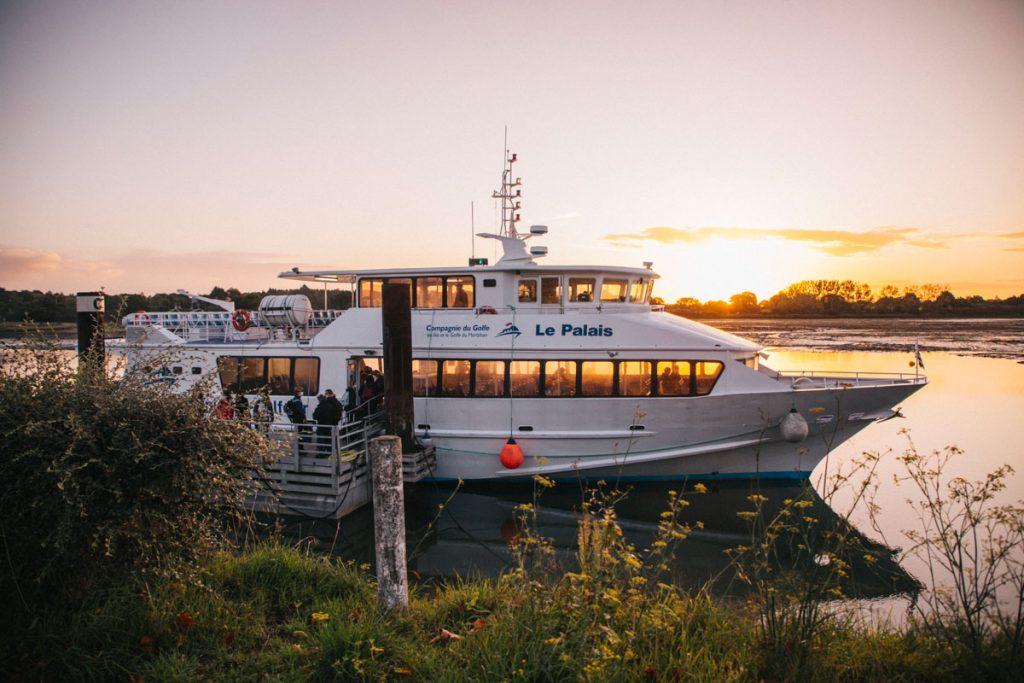 La compagnie du Golf, des ferries pour aller sur Belle-ile-en-mer. crédit photo : Clara Ferrand - blog Wildroad