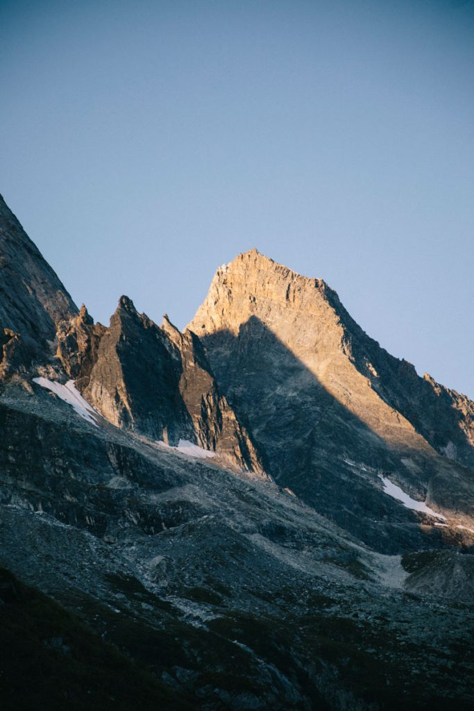 Glacier de l'Epena en Savoie. crédit photo : Clara Ferrand - blog Wildroad
