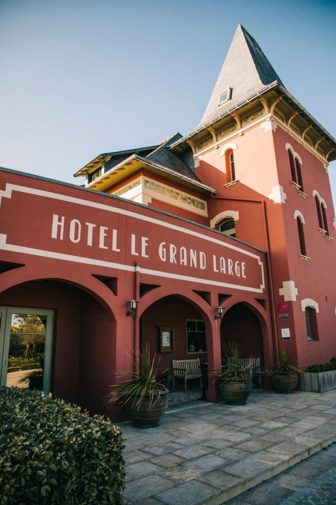 L'hôtel du grand Large à port Coton sur Belle-Île-en-mer. crédit photo : Clara Ferrand - blog Wildroad