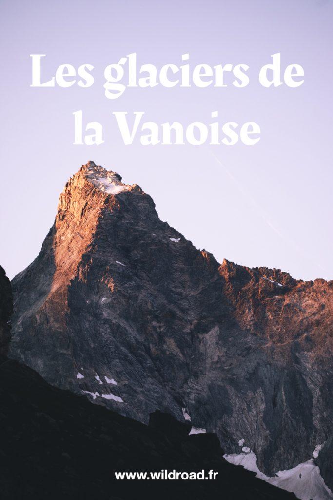 Les glaciers de Vanoise à découvrir lors d'une randonnée de 3 jours dans le parc. Au départ du Laisonnay-d'en-Bas en faisant une boucle par le cirque du cul du Nant et le lac des échines. crédit photo : Clara Ferrand - blog Wildroad #alpes #france #randonnée #trek #hiking #bivouac #camping #glacier #culdunant #vanoise #savoie