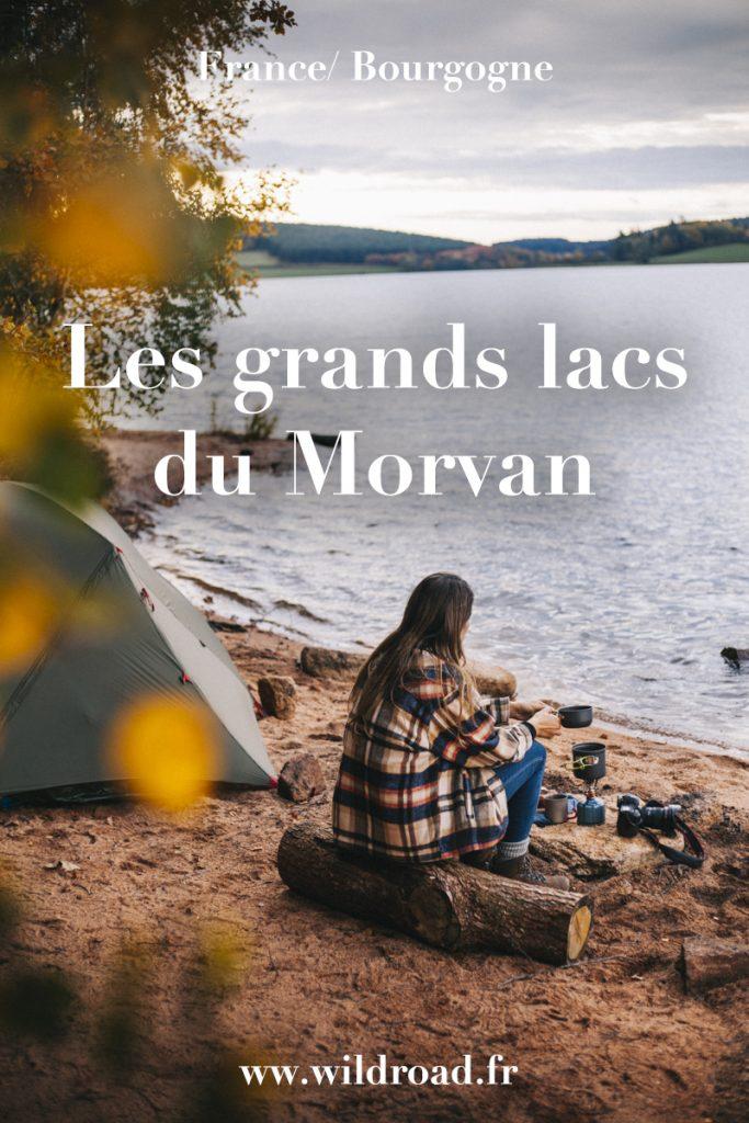 Un week-end pour découvrir les grands lacs du parc naturel régional du Morvan. Tous mes conseils pour bivouaquer autour des endroits les plus sympas de la région. crédit photo : Clara Ferrand - bvlog Wildroad. #morvan #bivouac #randonnee #weekend #nievre # nature #lacsaintagnan #lacdessettons