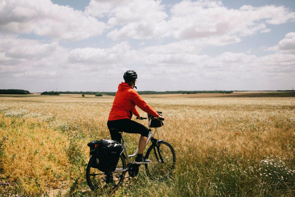 Découvrir les parc naturel régionaux de l'Île-de-France à vélo en un week-end. crédit photo : Clara Ferrand - blog Wildroad