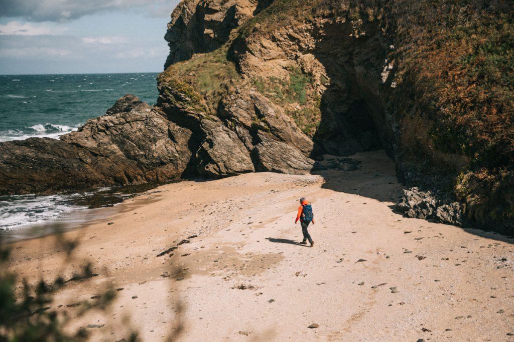 Le premier jour de randonnée sur le tour de Belle-Île-en-mer. crédit photo : Clara Ferrand - blog Wildroad