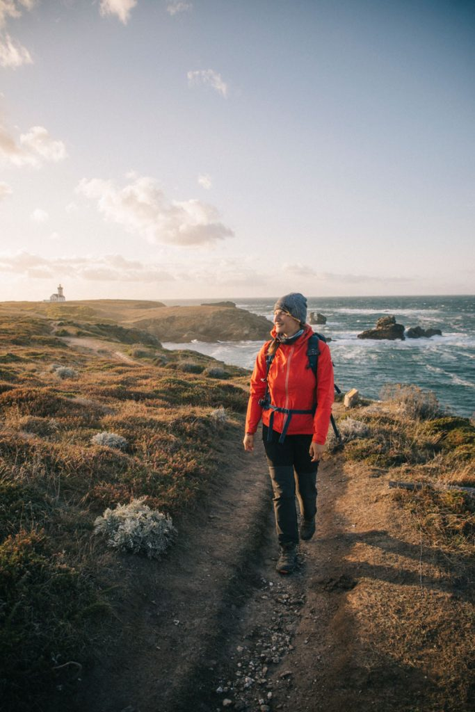 Les tour de Belle-île-en-mer à pieds jusqu'à la pointe des poulains. crédit photo : Clara Ferrand - blog Wildroad