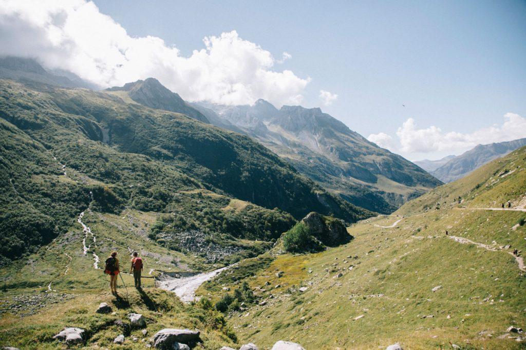 Randonnée jusqu'au refuge de la Glière depuis le Laisonnay-d'en-Bas d'en bas. crédit photo : Clara Ferrand - blog Wildroad