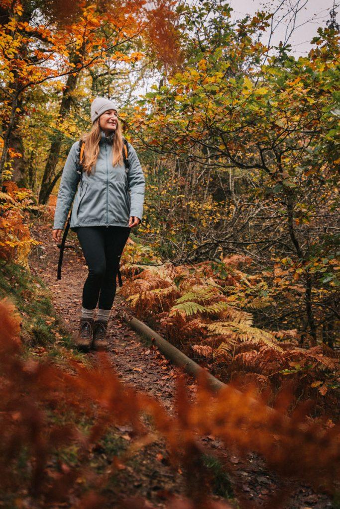 Les randonnée sà faire dans le parc naturel régional du Morvan en automne. crédit photo : Clara Ferrand - blog Wildroad