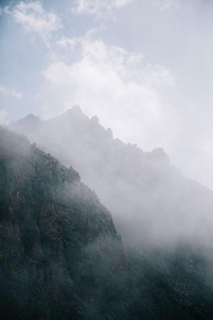 Le col de la grassaz dans le parc de la Vanoise. crédit photo : Clara Ferrand - blog Wildroad