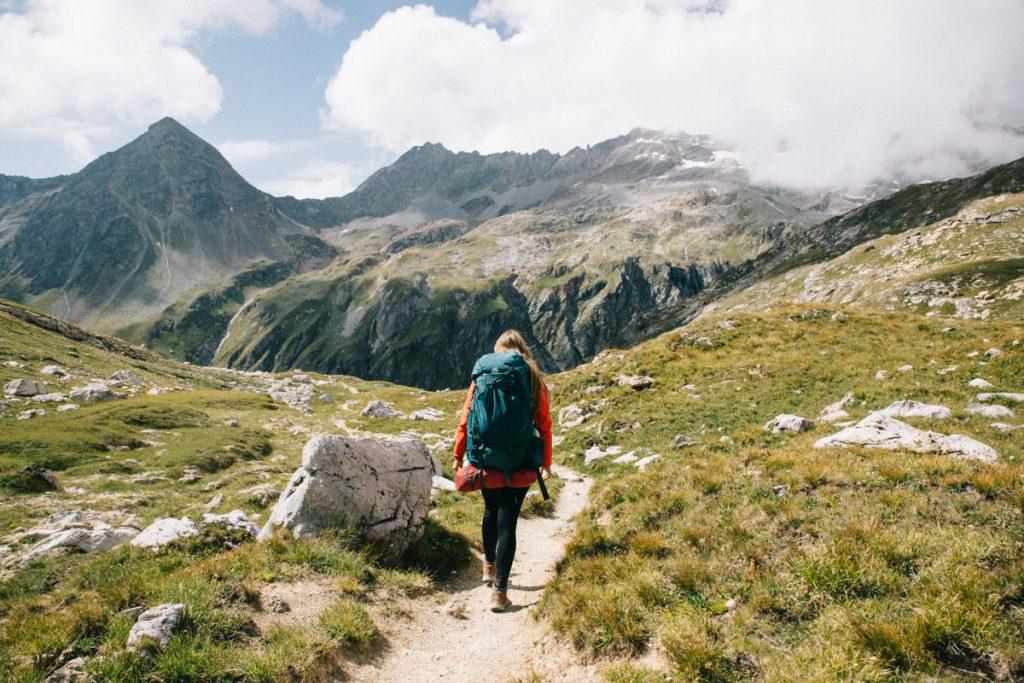 Randonnée au col du plan Séry. crédit photo : Clara Ferrand - blog Wildroad