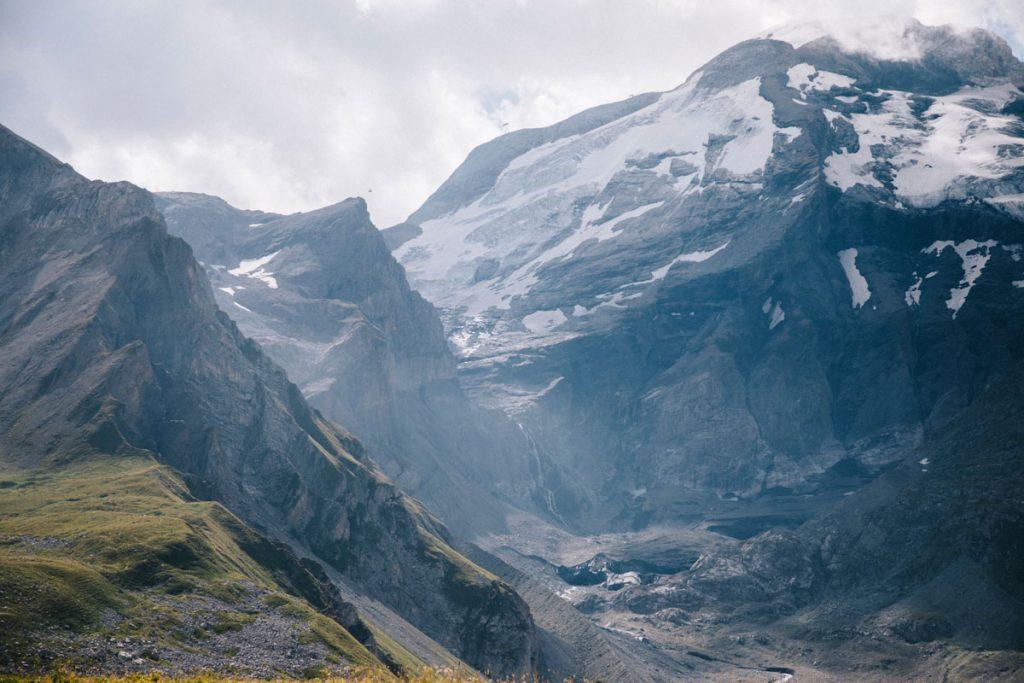 Le glacier de la Grande Motte en randonnée. crédit photo : Clara Ferrand - blog Wildroad