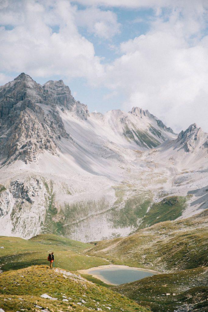Idée de randonnée dans le parc de la Vanoise : le lac Verdet. crédit photo : Clara Ferrand - blog Wildroad