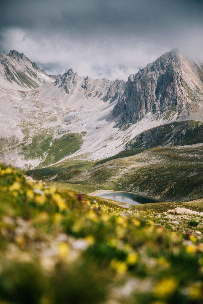 Randonnée au lac verdet un beaux paysage de la Savoie. crédit photo : Clara Ferrand - blog Wildroad