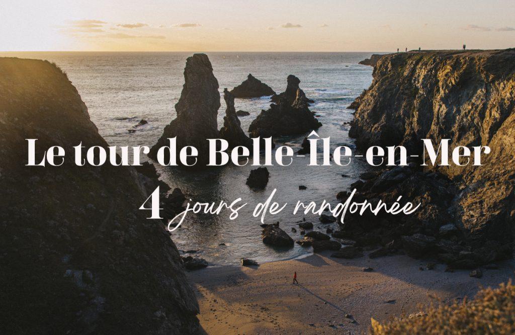 4 jours de randonnée sur le GR340 le tour de Belle-Île-en-mer