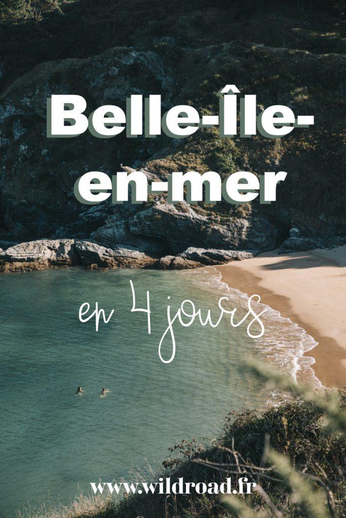Le sentier côtier de Belle-Île-en-mer à faire en 4 jours. Tout ce que vous devez savoir pour faire cette randonnée mythique en France. crédit photo : Clara Ferrand - blog Wildroad