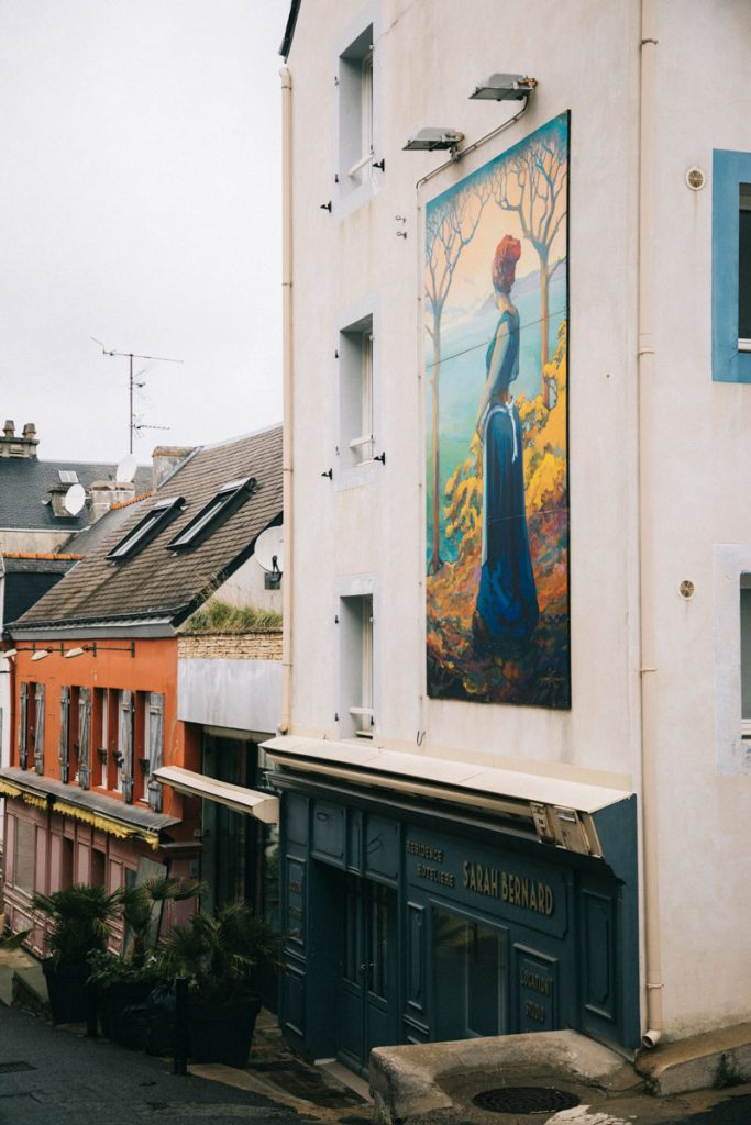Le Palais et Sarah Bernard. crédit photo : Clara Ferrand - blog Wildroad