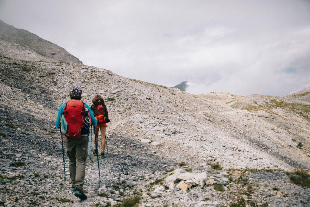 La pointe de la Vallaisonnay dans le parc de la Vanoise. crédit photo : Clara Ferrand - blog Wildroad