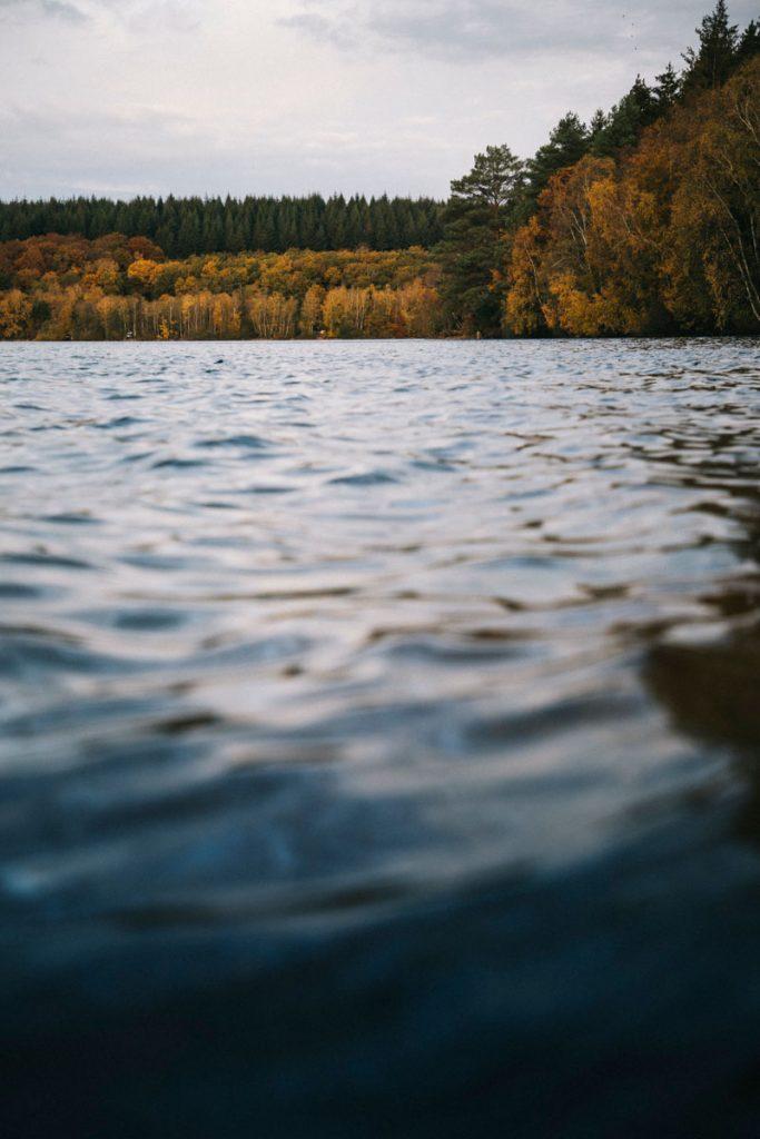 Les grand lacs du Morvan à découvrir lors d'un week-end. crédit photo : Clara Ferrand - blog Wildroad
