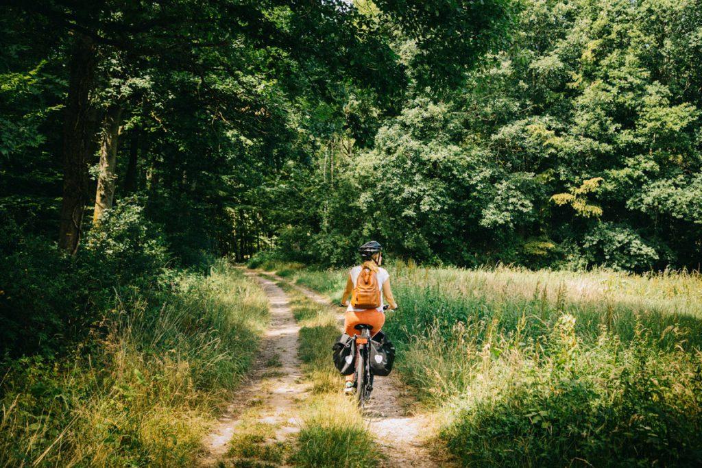 Idée d'itinéraire à vélo autour de Paris pour un week-end à la campagne. crédit photo : Clara Ferrand - blog Wildroad