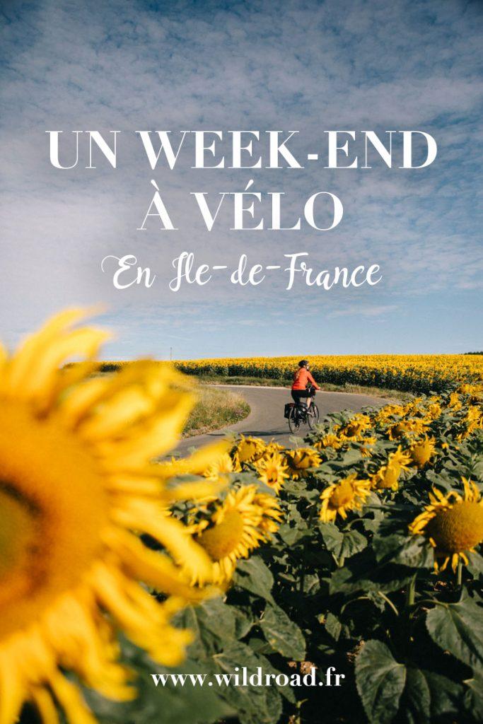 Un week-end à vélo pour découvrir la campagne et les villages autour de Paris. Le weke-end qui alliera culture et effort physique. crédit photo : Clara Ferrand - blog Wildroad. #paris #france #weekend #balade #velo #bike #parcnaturelregionaux #rambouillet #essone