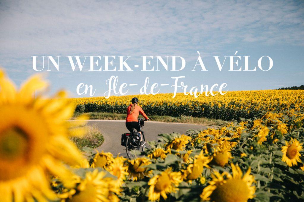 Week-end à vélo autour de Paris, de l'Essone à l'Eure-et-Loir