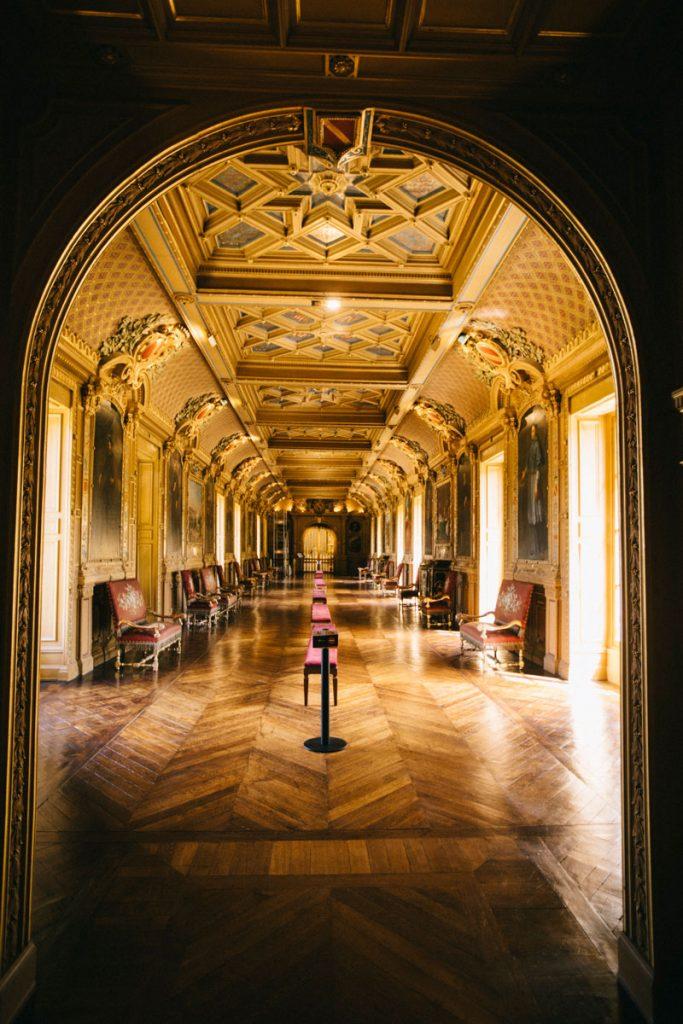 Visiter l'intérieur du château de Maintenon pendant un week-end. crédit photo : Clara Ferrand - blog Wildroad