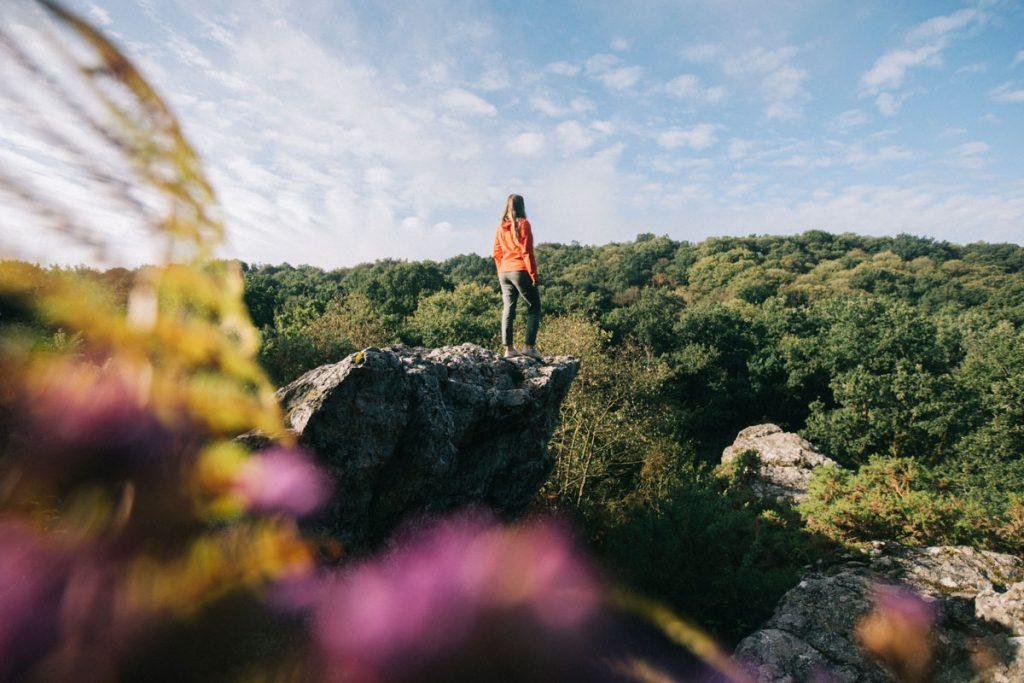 Le site naturel du Saut Roland à Dampierre-du-chemin. crédit photo : Clara Ferrand - blog Wildroad
