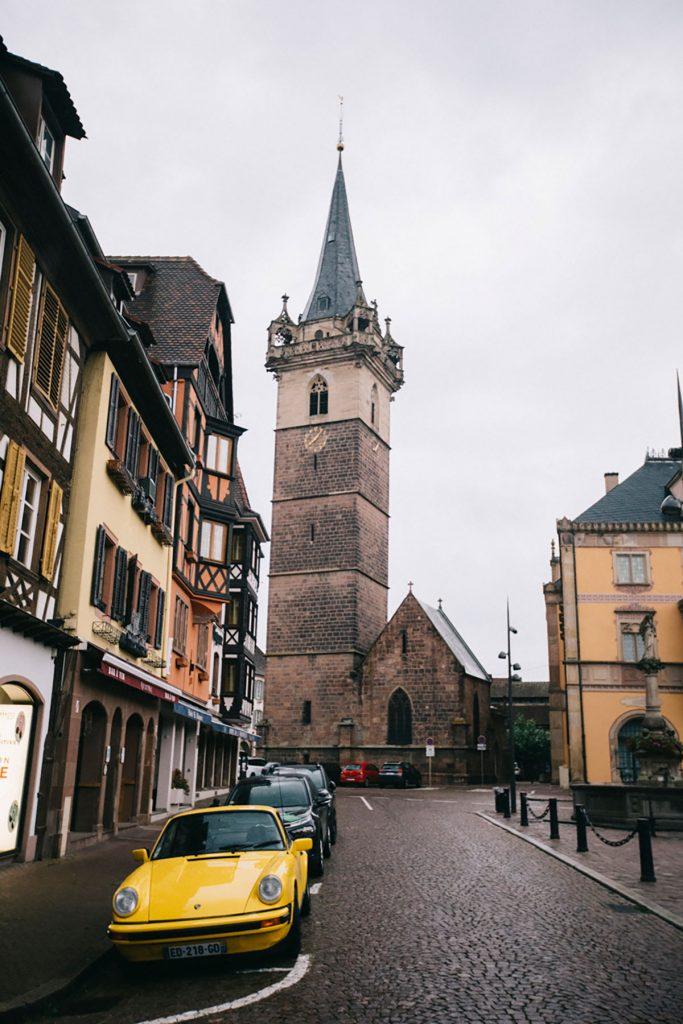 Le Beffroi de Obernai en Alsace. crédit photo : Clara Ferrand - blog Wildroad
