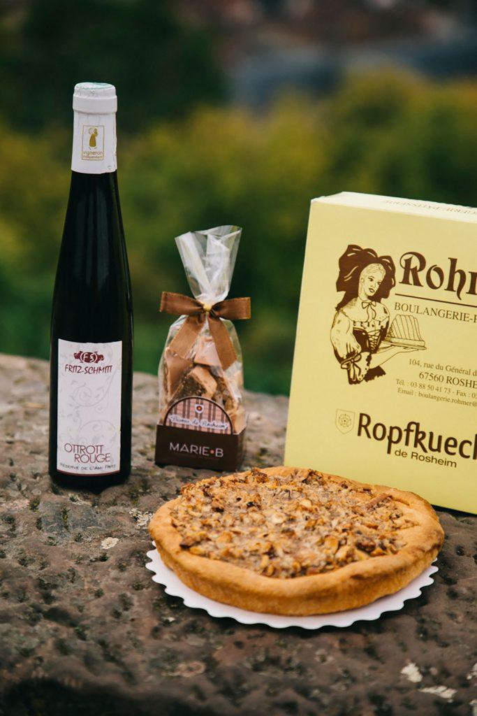 Les bisous de Rosheim sur l'Alsace à Vélo. crédit photo : Clara Ferrand - blog Wildroad