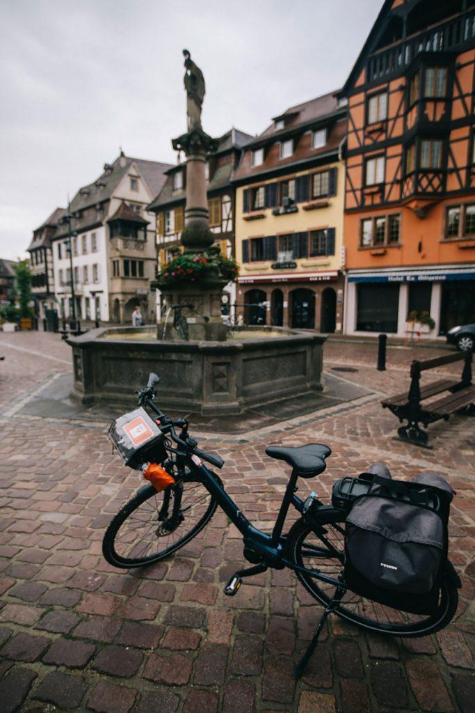 Visite de Molsheim lors d'un séjour à vélo en Alsace. crédit photo : Clara Ferrand - blog Wildroad