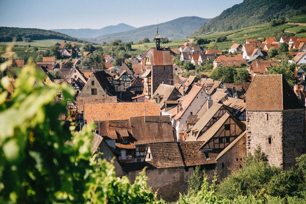 Trouver un transporteur pour son séjour à vélo en Alsace. crédit photo : Clara Ferrand - blog Wildroad