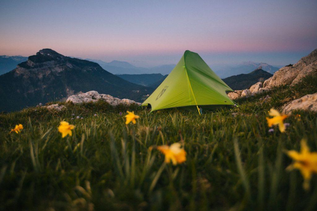 Les règles pour faire un bivouac dans le massif de la Chartreuse. crédit photo : Clara Ferrand - blog Wildroad