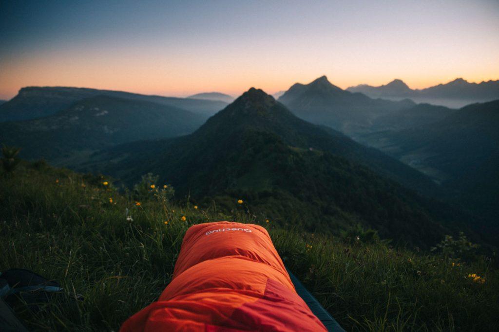 Randonnée bivouac au sommet de la pointe de la Galoppaz. crédit photo : Clara Ferrand - blog Wildroad