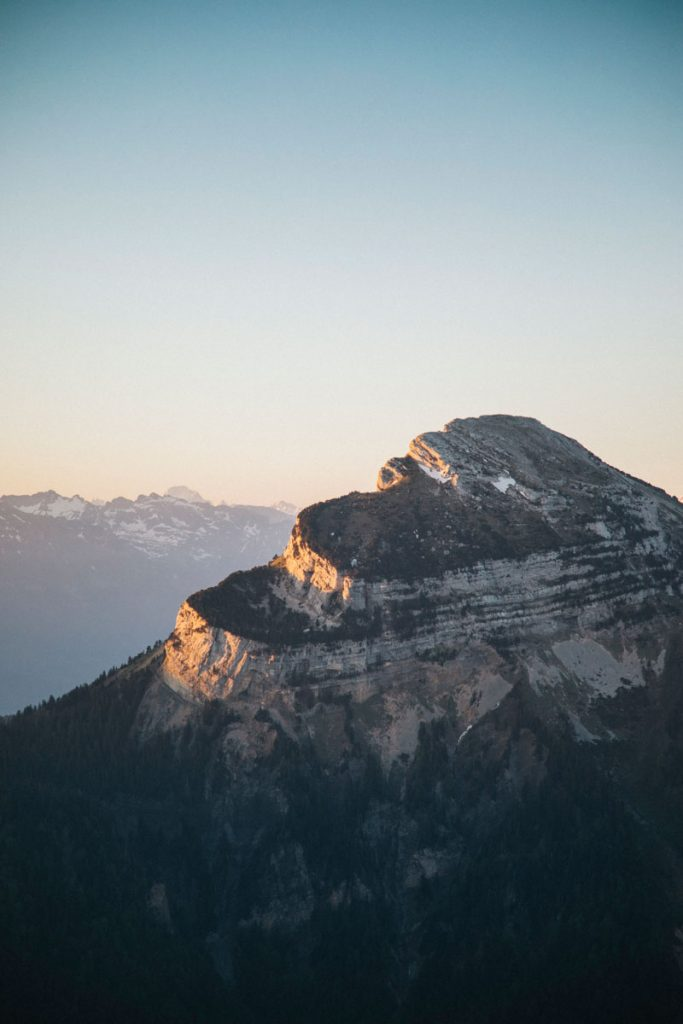 Le sommet de Chamechaude en Isère. crédit photo : Clara Ferrand -blog Wildroad