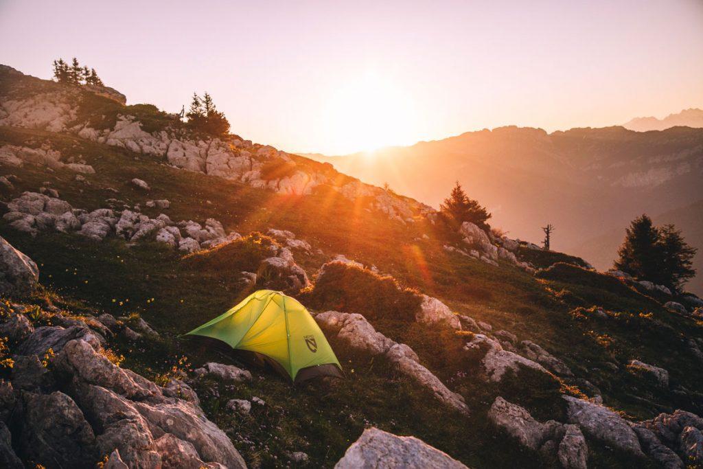 Une idée de bivouac à faire autour de Grenoble dans le massif de la Chartreuse. crédit photo : Clara Ferrand - blog Wildroad