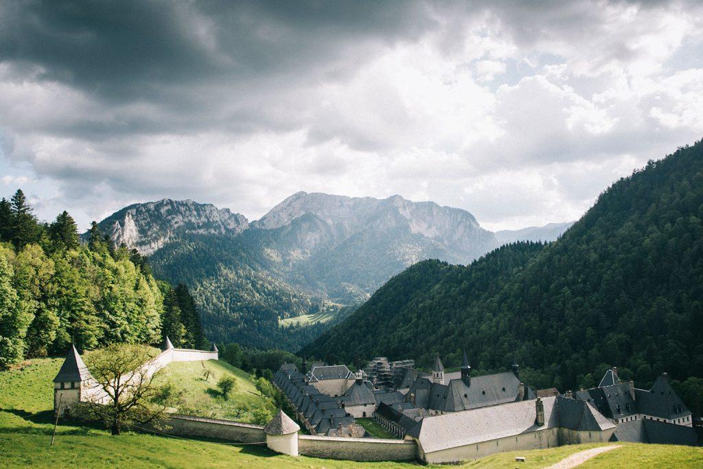 Le monastère de la Grande cHartreuse en Isère. crédit photo : Clara Ferrand - blog Wildroad