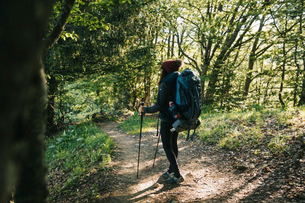 Départ depuis le col des près pour la randonnée de la pointe de la Galoppaz. crédit photo : Clara Ferrand - blog Wildroad