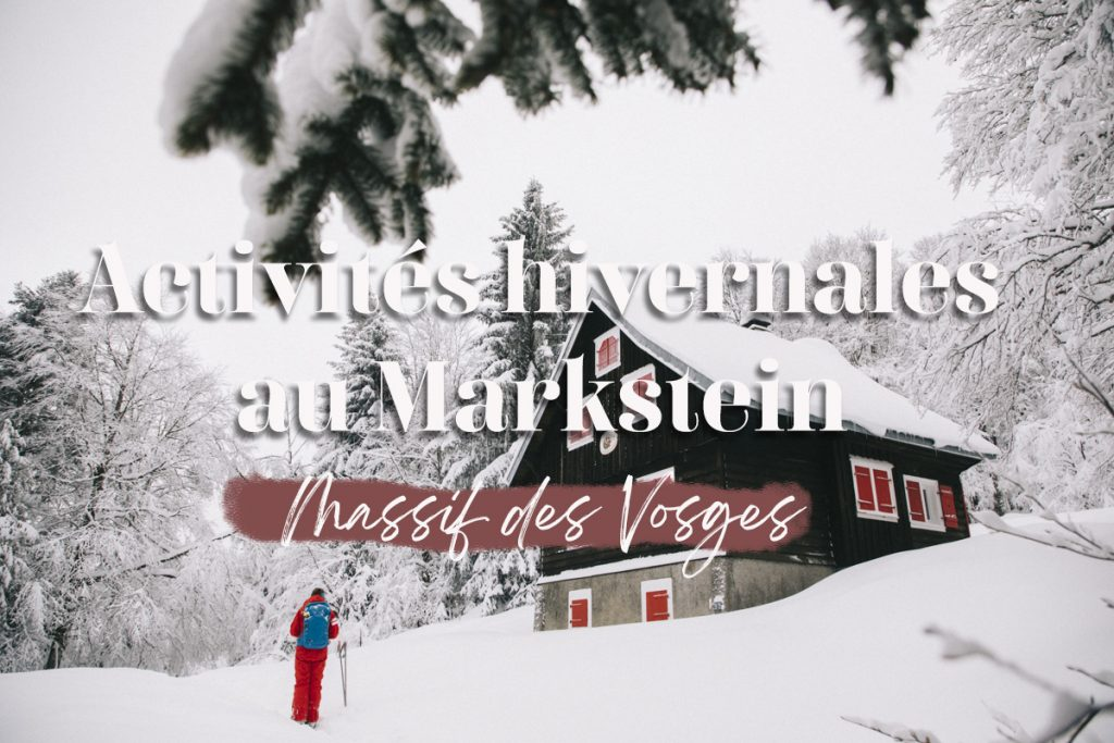 Les activités hivernales à faire pendant un week-end neige dans le massif des Vosges. crédit photo : Clara Ferrand - blog Wildroad