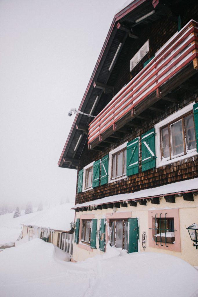 L'auberge de Steinlebach sur le domaine du Markstein. crédit photo : Clara Ferrand - blog Wildroad