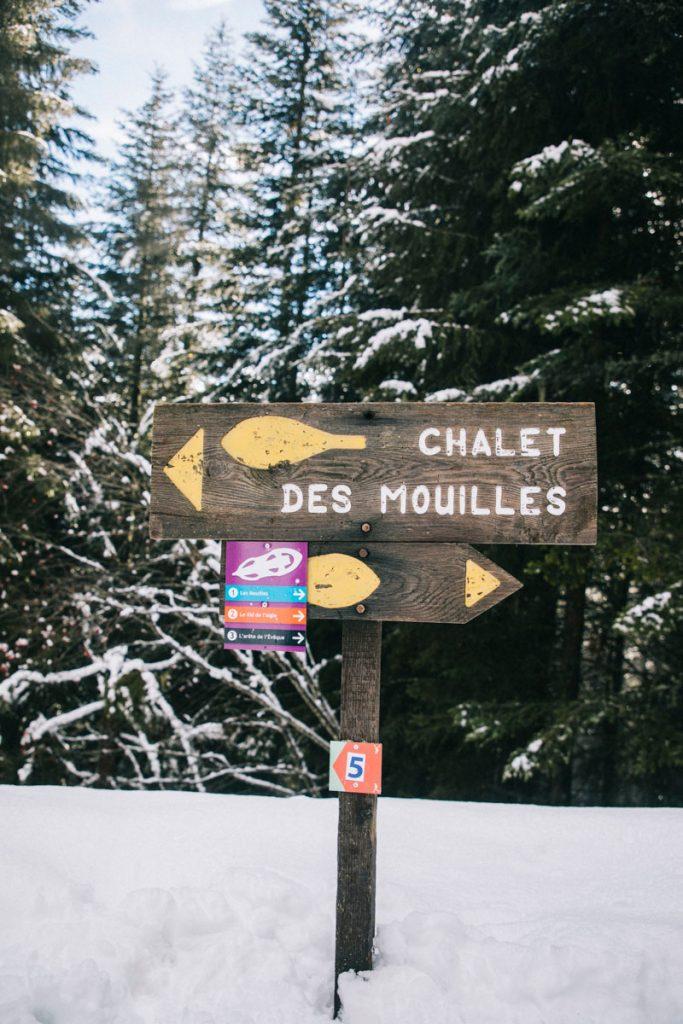 Les sentiers balisé autour du Collet d'Allevard. crédit photo : Clara Ferrand -blog Wildroad