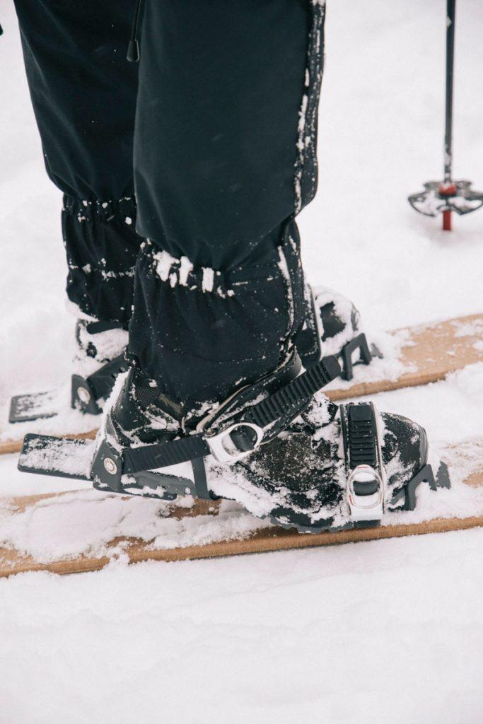 Découverte du ski-ok dans le massif des Vosges avec l'ESF du Markstein. crédit photo : Clara Ferrand -blog Wildroad